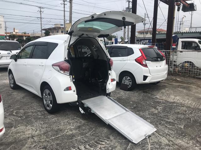 トヨタ ラクティス  XスローパータイプI CVT 修復歴無 バックカメラ 5名乗り