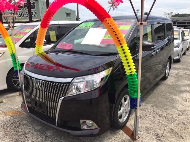 沖縄県豊見城市の中古車ならエスクァイア Gi リアオートエアコン LEDライト フルフラット シートヒータ クルコン