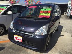 沖縄の中古車 ダイハツ ムーヴ 車両価格 46万円 リ済込 平成24年 9.4万K アーバンナイトブルークリスタルM