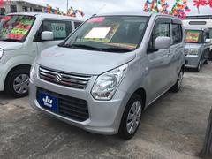 沖縄の中古車 スズキ ワゴンR 車両価格 55万円 リ済込 平成25年 7.6万K シルキーシルバーメタリック