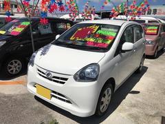 沖縄の中古車 ダイハツ ミライース 車両価格 32万円 リ済込 平成25年 11.7万K ホワイト