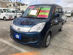 沖縄の中古車 スズキ ソリオ 車両価格 55万円 リ済込 平成25年 8.4万K ブルーM
