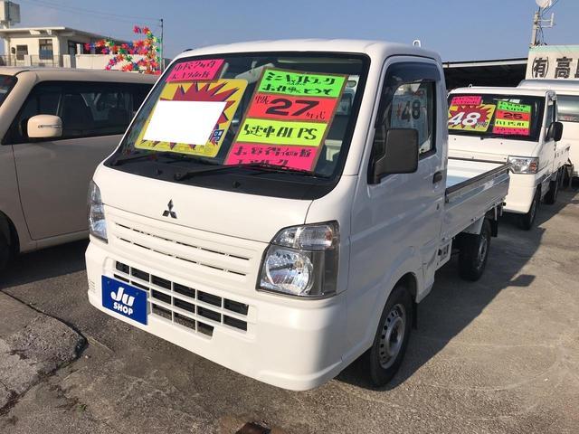 沖縄の中古車 三菱 ミニキャブトラック 車両価格 43万円 リ済込 2015(平成27)年 14.0万km ホワイト