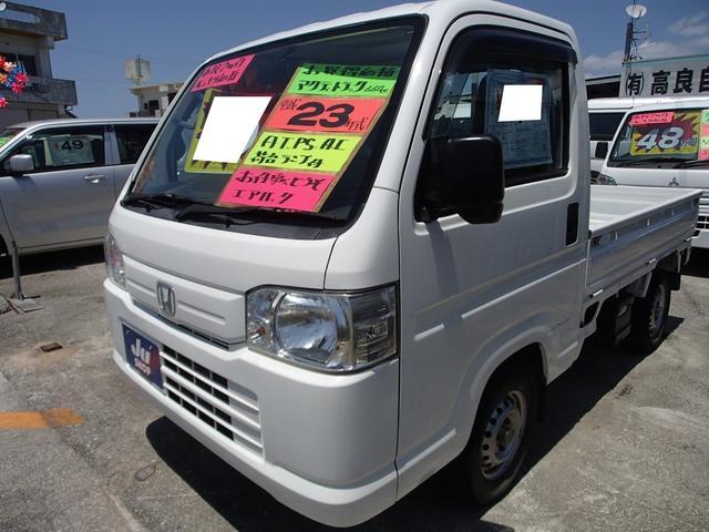 沖縄の中古車 ホンダ アクティトラック 車両価格 39万円 リ済込 2011(平成23)年 15.2万km ホワイト