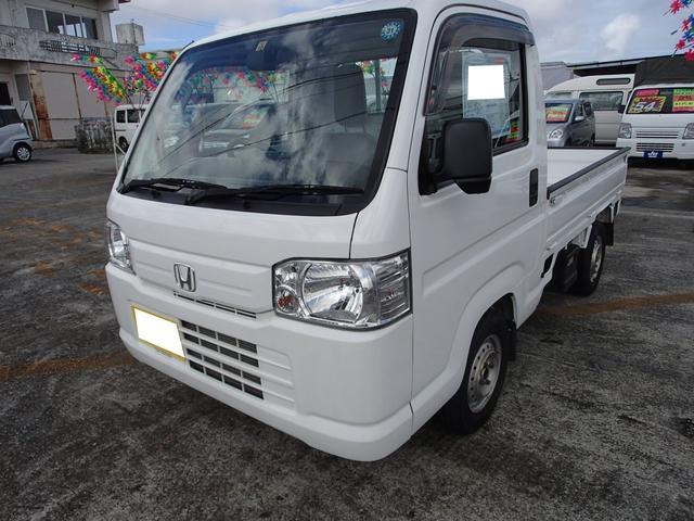 沖縄の中古車 ホンダ アクティトラック 車両価格 52万円 リ済込 2014(平成26)年 9.5万km ホワイト