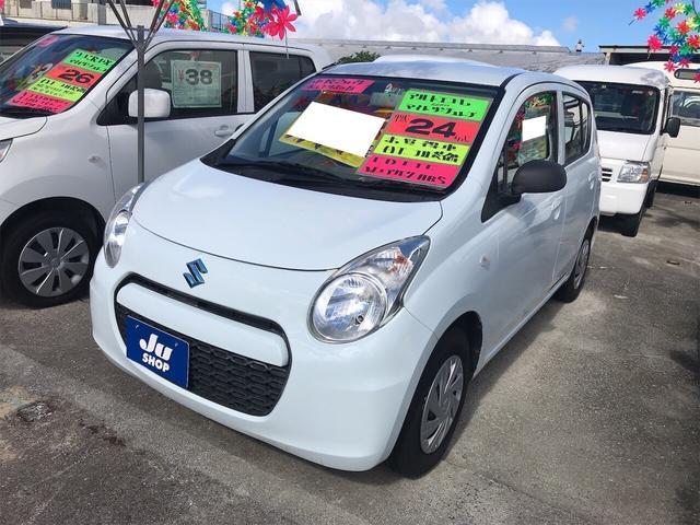 沖縄県の中古車ならアルトエコ L 軽自動車 ETC リーフホワイト CVT AC