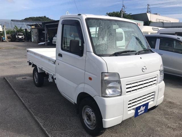 沖縄県豊見城市の中古車ならスクラムトラック AC AT 軽トラック 白