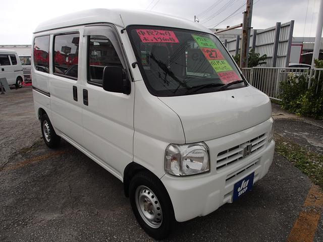沖縄の中古車 ホンダ アクティバン 車両価格 43万円 リ済込 2015(平成27)年 10.0万km ホワイト