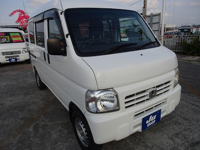 沖縄の中古車 ホンダ アクティバン 車両価格 43万円 リ済込 2016(平成28)年 10.2万km ホワイトIII
