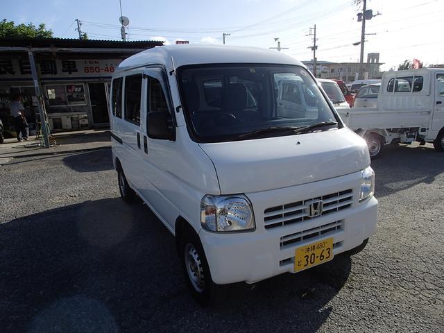沖縄の中古車 ホンダ アクティバン 車両価格 46万円 リ済込 2015(平成27)年 8.2万km ホワイト