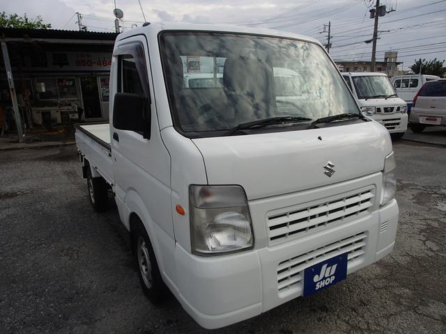 沖縄の中古車 スズキ キャリイトラック 車両価格 56万円 リ済込 2013(平成25)年 7.8万km ホワイト