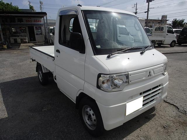 沖縄の中古車 三菱 ミニキャブトラック 車両価格 44万円 リ未 2014(平成26)年 16.8万km ホワイト