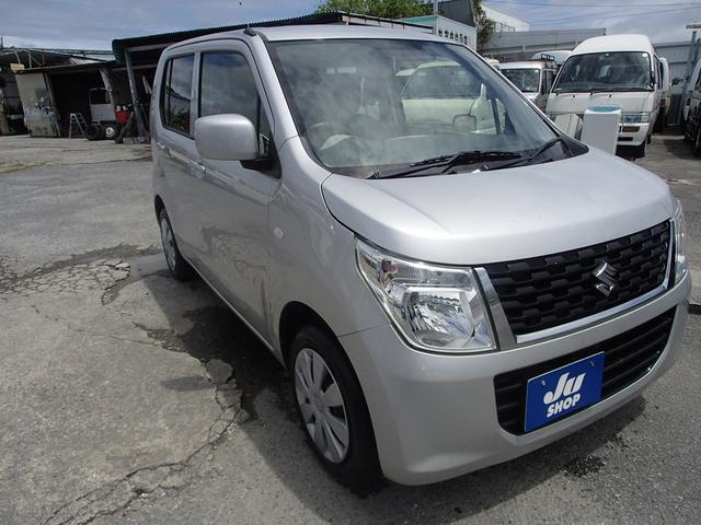 沖縄の中古車 スズキ ワゴンR 車両価格 41万円 リ済込 2015(平成27)年 9.6万km シルバーM