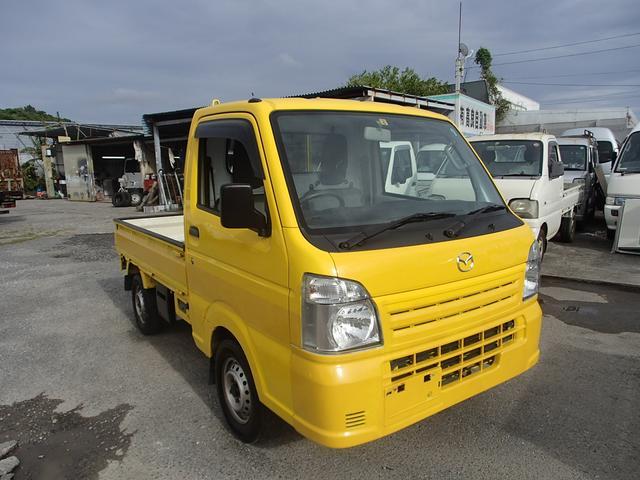 沖縄の中古車 マツダ スクラムトラック 車両価格 46万円 リ済込 2014(平成26)後 10.6万km イエロー