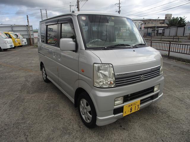 沖縄県豊見城市の中古車ならエブリイワゴン PZターボ