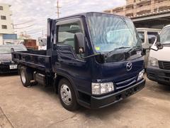 沖縄の中古車 マツダ タイタントラック 車両価格 119万円 リ済込 平成15年 20.9万K 紺