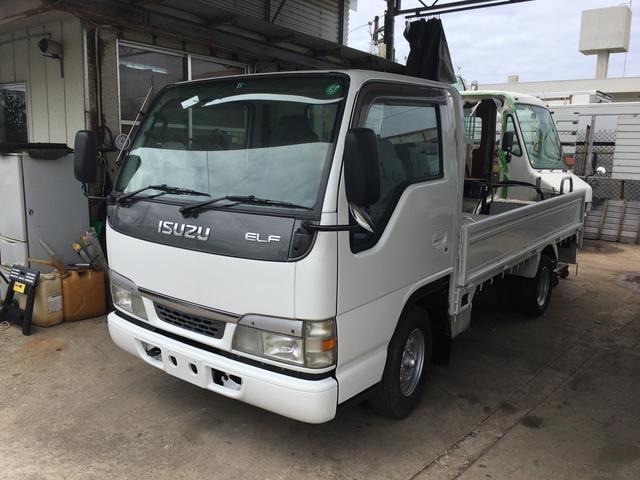 沖縄の中古車 いすゞ エルフトラック 車両価格 96万円 リ済込 平成16年 14.6万km ホワイト