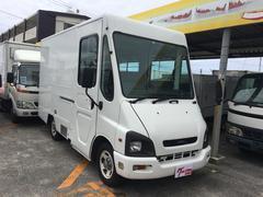 沖縄の中古車 いすゞ ビギン 車両価格 145万円 リ済込 平成14年 13.5万K ホワイト