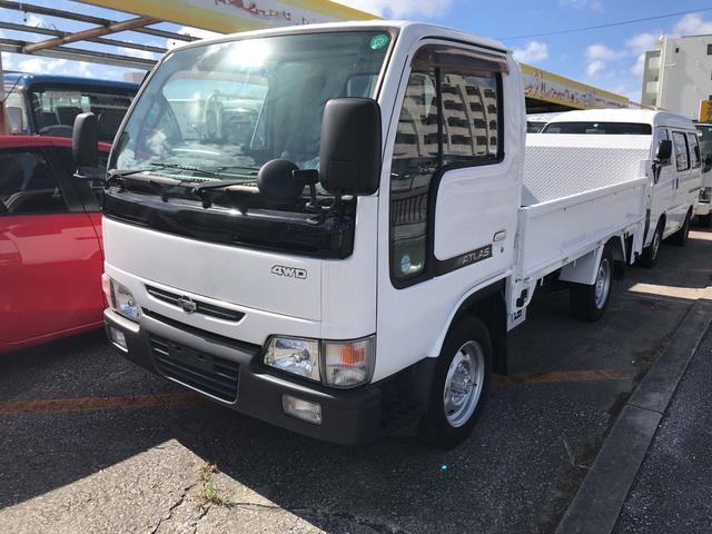 沖縄の中古車 日産 アトラストラック 車両価格 109万円 リ済込 平成13年 20.4万km ホワイトM