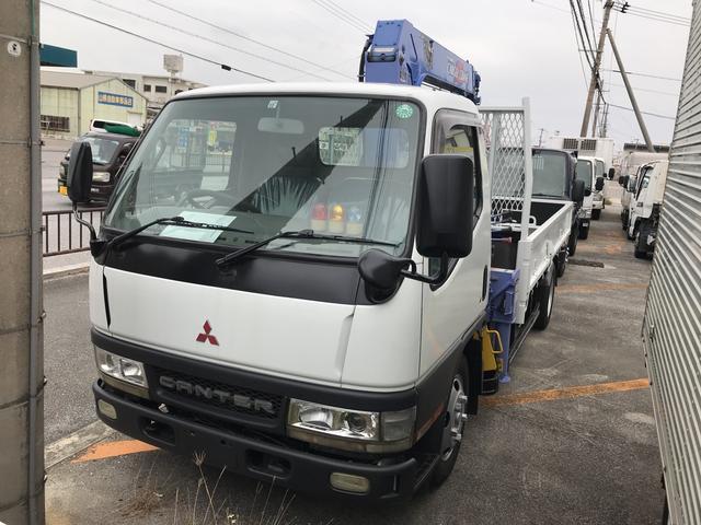 沖縄の中古車 三菱ふそう キャンター 車両価格 178万円 リ済込 平成13年 15.7万km ホワイト