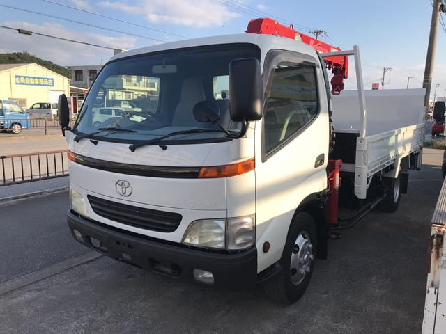 沖縄の中古車 トヨタ ダイナトラック 車両価格 230万円 リ済込 平成14年 18.0万km ホワイト
