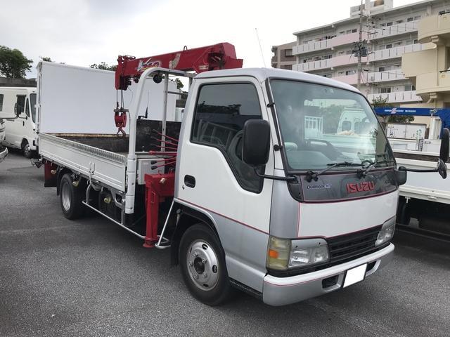 沖縄県豊見城市の中古車ならエルフトラック トラック クレーン AC MT PW エアバック