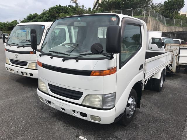 沖縄の中古車 日野 デュトロ 車両価格 95万円 リ済込 2000(平成12)年 12.5万km ホワイト