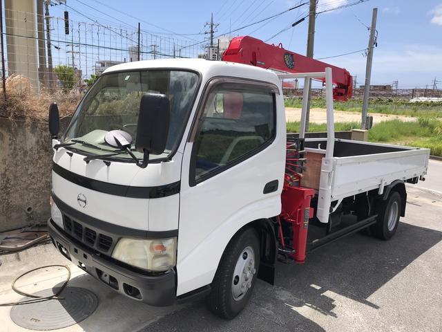 沖縄県の中古車ならデュトロ 3段クレーン トラック AC MT 修復歴無