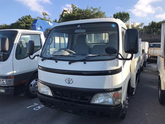 沖縄の中古車 トヨタ ダイナトラック 車両価格 152万円 リ済込 2004(平成16)年 7.9万km ホワイト