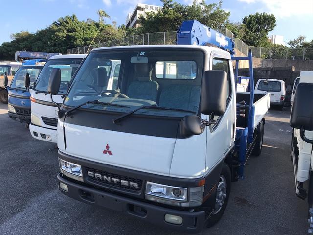 沖縄県の中古車ならキャンター トラック AC AT ホワイト パワーウィンドウ