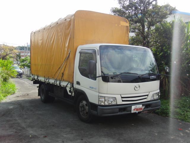 沖縄の中古車 マツダ タイタントラック 車両価格 115万円 リ済込 2004(平成16)年 35.4万km ホワイト