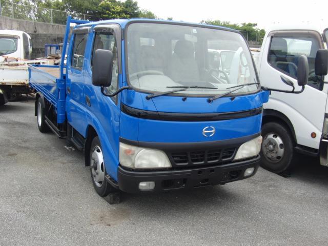 沖縄県豊見城市の中古車ならデュトロ ロングWキャブ全低床