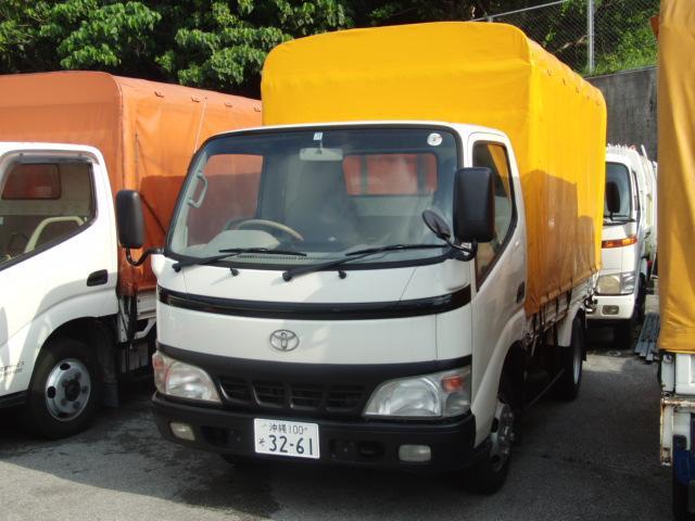 沖縄の中古車 トヨタ ダイナトラック 車両価格 110万円 リ済込 2004(平成16)年 17.2万km ホワイト