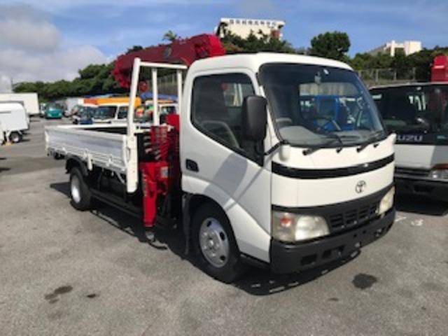 トヨタ ダイナトラック 3段クレーン リモコン付