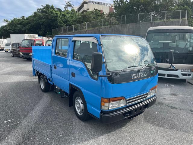 沖縄県の中古車ならエルフトラック Wキャブ 垂直式パワーゲート