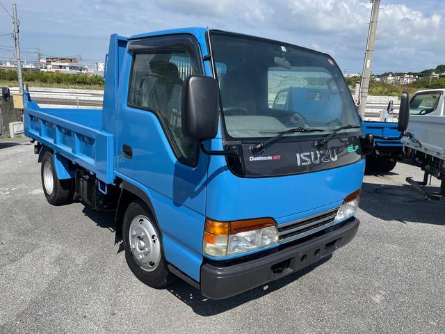 沖縄の中古車 いすゞ エルフトラック 車両価格 149万円 リ済込 2002(平成14)年 18.6万km ブルー