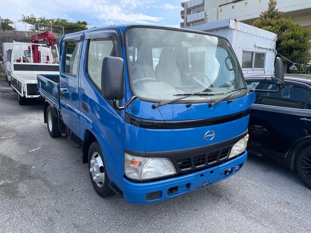 沖縄の中古車 日野 デュトロ 車両価格 124万円 リ済込 2003(平成15)年 16.6万km ブルー