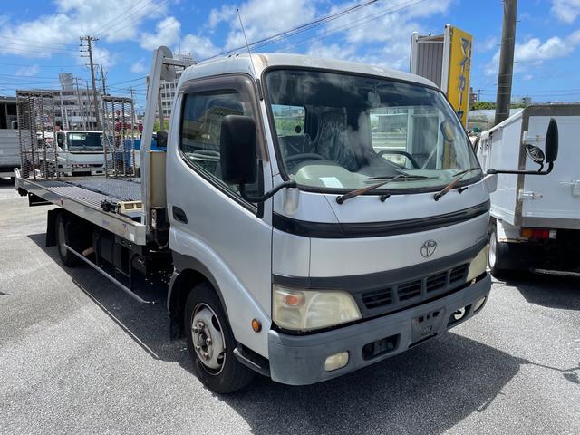 沖縄の中古車 トヨタ ダイナトラック 車両価格 210万円 リ済込 2002(平成14)年 11.8万km ホワイト