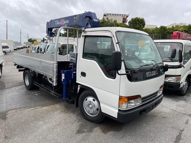 沖縄県の中古車ならエルフトラック  4段クレーン