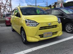 沖縄の中古車 ダイハツ ミライース 車両価格 106万円 リ済別 平成29年 0.4万K レモンスカッシュクリスタルM