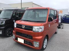 沖縄の中古車 ダイハツ ウェイク 車両価格 153万円 リ済別 平成28年 424K トニコオレンジM