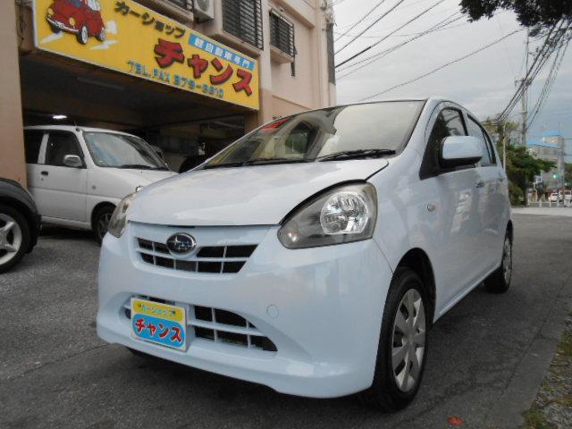 沖縄の中古車 スバル プレオプラス 車両価格 41万円 リ済込 2013(平成25)年 6.1万km ブルー