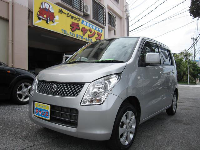 沖縄の中古車 スズキ ワゴンR 車両価格 38万円 リ済込 平成23年 9.5万km グレー