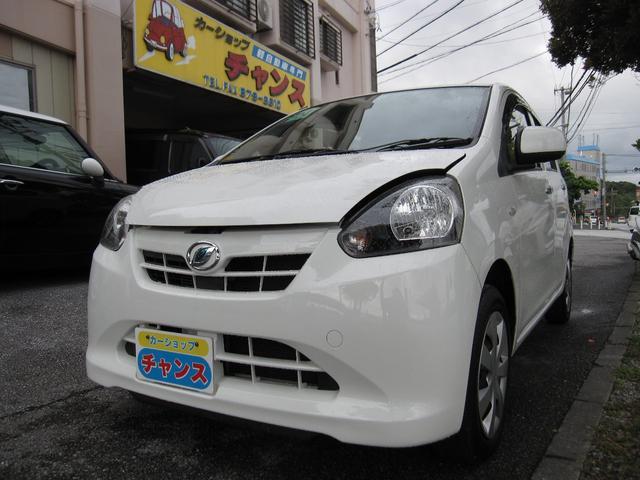 沖縄の中古車 ダイハツ ミライース 車両価格 29万円 リ済込 平成24年 9.1万km ホワイト