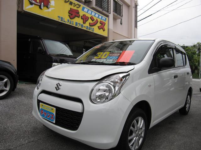沖縄の中古車 スズキ アルト 車両価格 29万円 リ済込 2011(平成23)年 7.5万km ホワイト