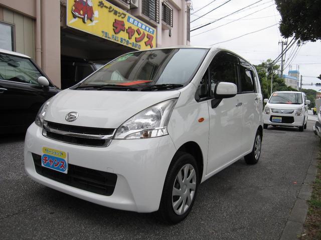 沖縄の中古車 ダイハツ ムーヴ 車両価格 39万円 リ済込 2012(平成24)年 9.0万km ホワイト