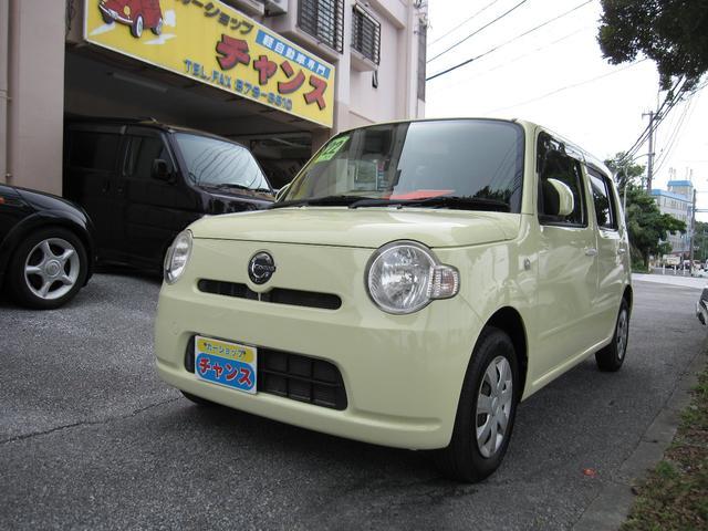 沖縄の中古車 ダイハツ ミラココア 車両価格 42万円 リ済込 2010(平成22)年 8.4万km イエロー