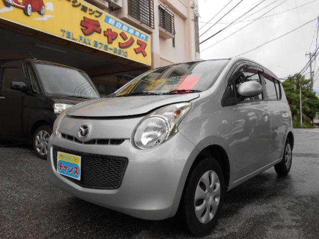 沖縄の中古車 マツダ キャロル 車両価格 27万円 リ済込 2010(平成22)年 9.1万km グレー