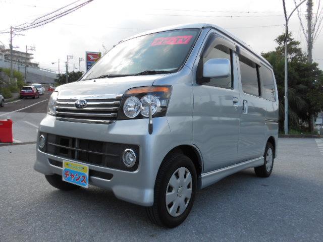 沖縄の中古車 スバル ディアスワゴン 車両価格 48万円 リ済込 2010(平成22)年 9.8万km グレー