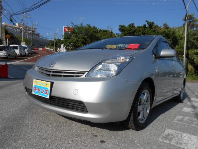 沖縄の中古車 トヨタ プリウス 車両価格 35万円 リ済込 2009(平成21)年 6.1万km グレー